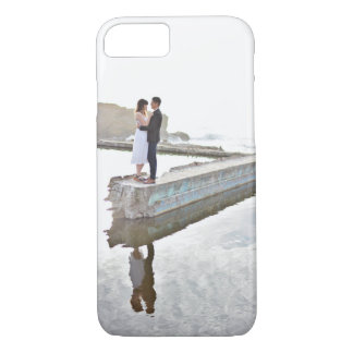 Add Your Wwn Save The Date Engagement photo iPhone 7 Case
