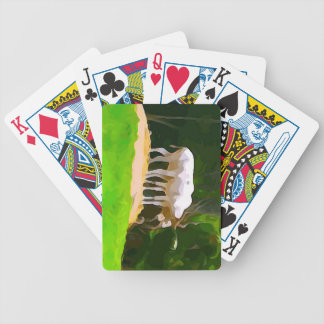 Addax from Safari Bicycle Playing Cards