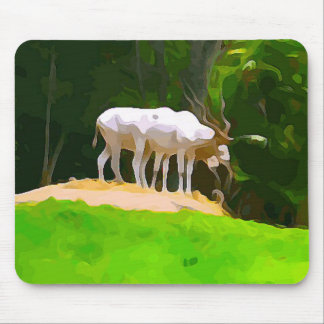 Addax from Safari Mouse Pad