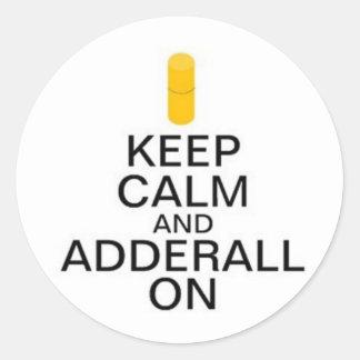 Adderall Stickers