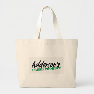Adderson's Fresh Produce Large Tote Bag