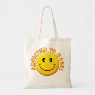 Addicted Bass Smile Tote Bag