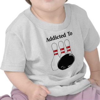 Addicted To Bowling Tshirts