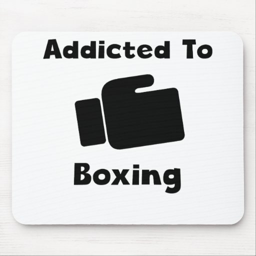 Addicted To Boxing Mouse Pads
