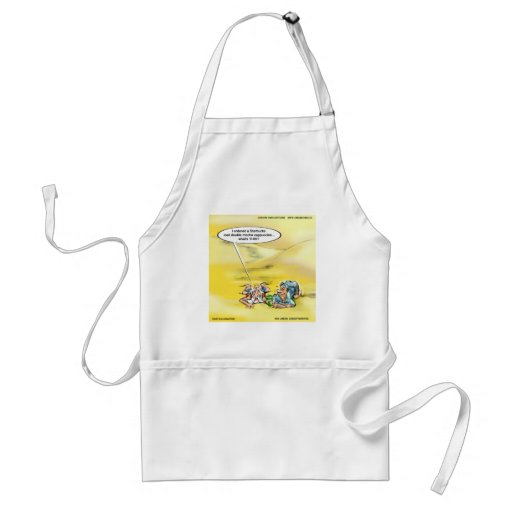 Addicted To Coffee By Londons Times Cartoons Apron