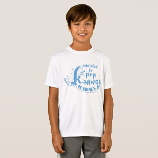 Addicted to KPOP MUSIC Kids' Sport-Tek Competitor T-Shirt