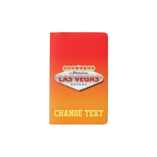 Addicted to Las Vegas, Nevada Funny Sign Pocket Moleskine Notebook
