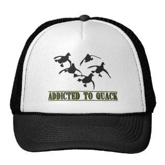 Addicted to Quack! Hats