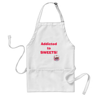 Addicted to SWEETS! Standard Apron
