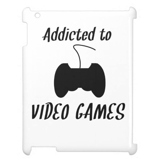 Addicted To Video Games Cover For The iPad