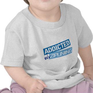 Addicted to Ziplining Tee Shirt