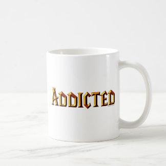 Addicted (WoW font) Coffee Mug