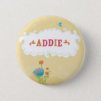 addie3 6 cm round badge