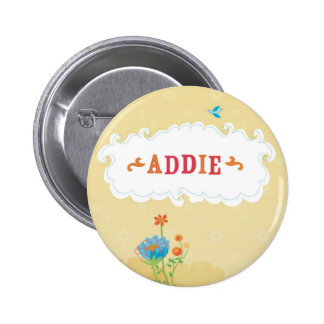 addie3 6 cm round badge