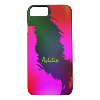 Addie Green and Pink Style iPhone cover