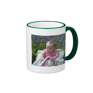 addies bluebonnet ringer mug