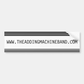 Adding Machine - Bumper Sticker