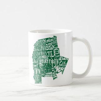 Addison County Typography 11 oz Classic White Mug