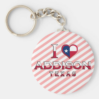 Addison, Texas Key Ring