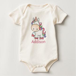 Addison's Personalized Unicorn Gifts Baby Bodysuit