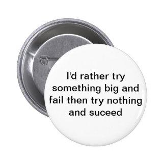 additude 6 cm round badge