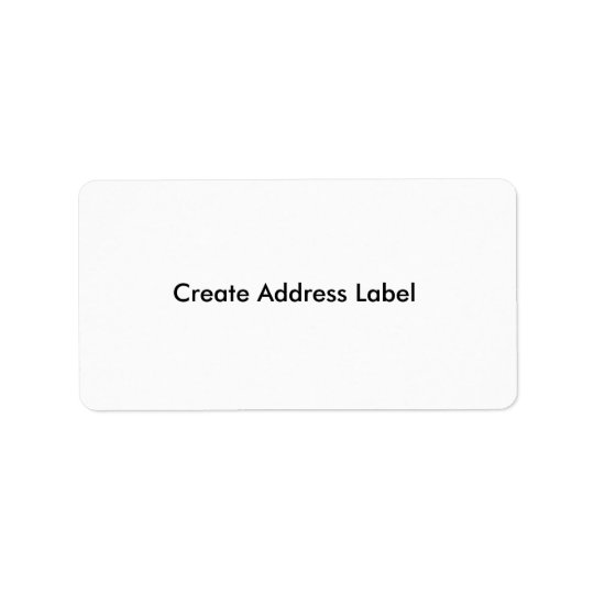 Address Label Create Make your own address Labels