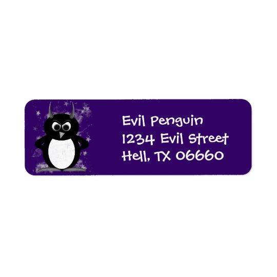 Address Labels - Evil Penguin