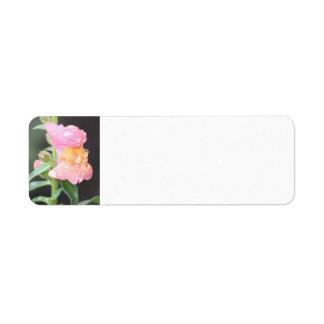 Address Labels - Flower
