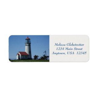 Address Labels--Lighthouse Return Address Label