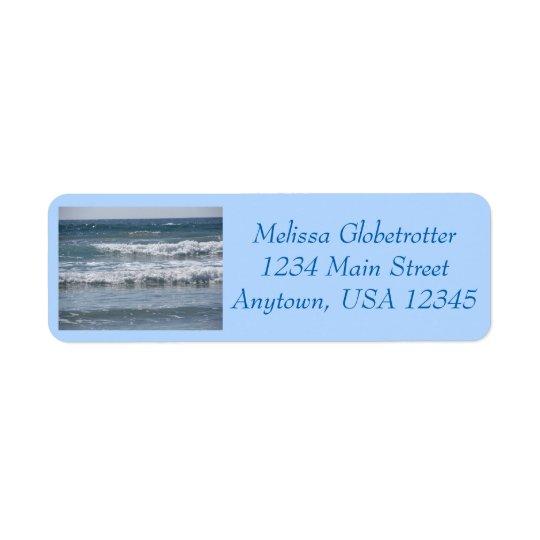 Address Labels--Multiple Waves Return Address Label