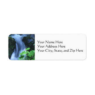 Address Labels:  Sol Duc Falls Return Address Label