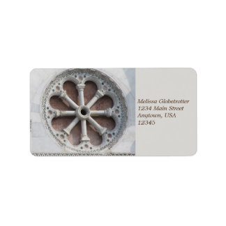 Address Labels--Wheel of Columns Label