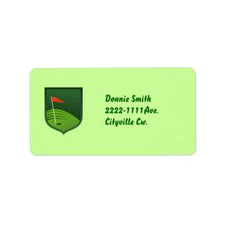 Address lable label
