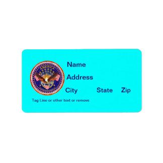 Address Spirit Is Not Forgotten America Address Label