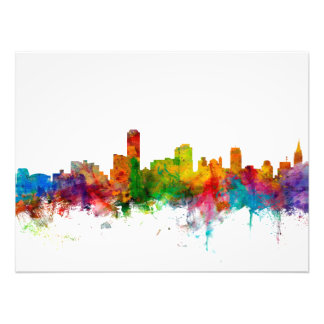 Adelaide Australia Skyline Photo Print