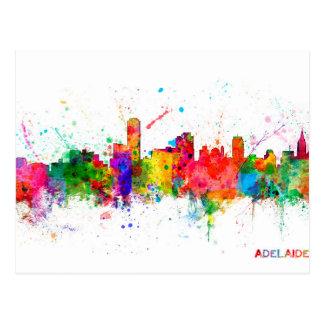 Adelaide Australia Skyline Postcard