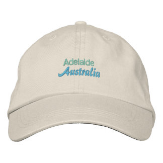 ADELAIDE cap Embroidered Baseball Cap