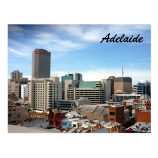 adelaide city postcard