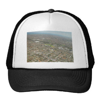 Adelaide From The Air In South Australia Trucker Hat