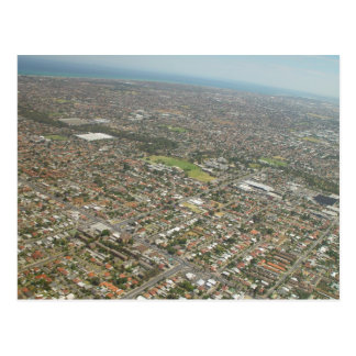 Adelaide From The Air In South Australia Postcard