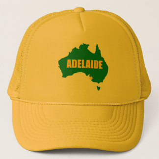 Adelaide Green and Gold Map Cap