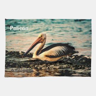 Adelaide Pelican Hand Towel