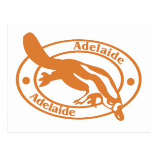 Adelaide Stamp Postcard
