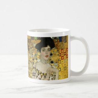 Adele Bauer by Klimt wraparound Coffee Mug