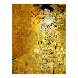 Adele Bloch-Bauer I by Gustav Klimt Postcard