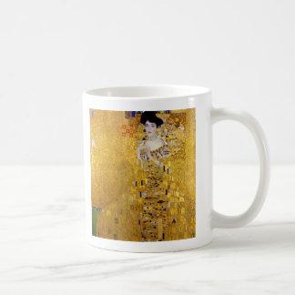 """""""Adele Bloch-Bauer's Portrait"""" and Gustav Klimt Coffee Mug"""