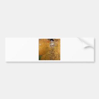 Adele, The Lady in Gold - Gustav Klimt Bumper Sticker