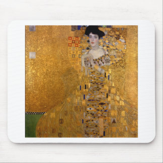 Adele, The Lady in Gold - Gustav Klimt Mouse Pad