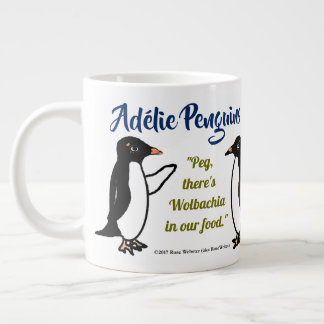 Adélie Penguins 20 oz. mug by RoseWrites