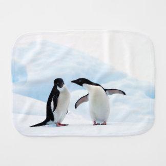Adelie Penguins Burp Cloth